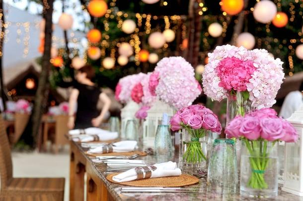 Tillhub Blumenladen Dekoration