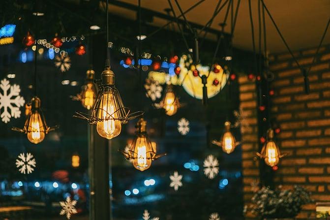 Weihnachtsdekoration Schaufenster Einzelhandel