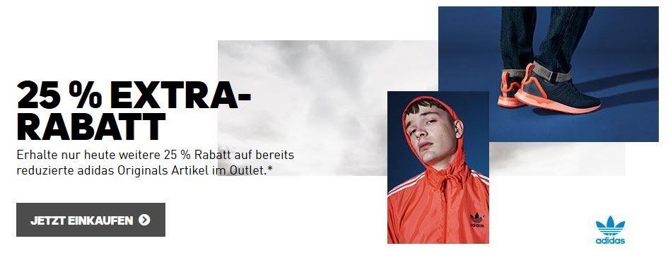 Screenshot der Adidas Webseite